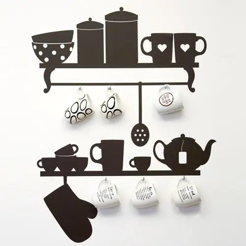 Original Wall Stickers for Kitchen Design