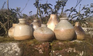 Jo Atherton's wood fired pottery
