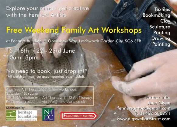 Did you attend the Fenners drop-in Workshops in June?