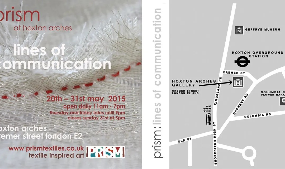 Fenner's artist Amanda Bloom is selected to join the international textiles group 'Prism'