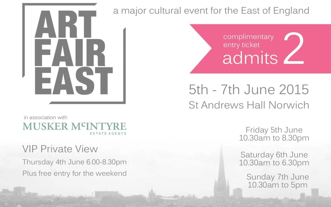 Art Fair East 4 – 7 June