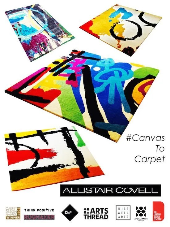 Allistair Covell Canvas To Carpet Collection