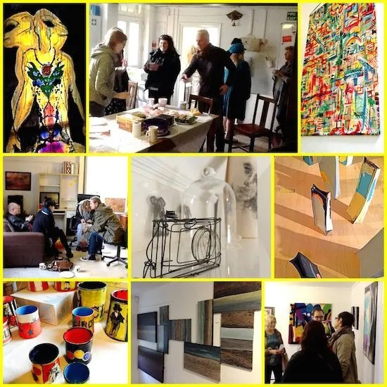 """""""I'll be back next year to buy more!"""" Open Studios at The Farmhouse was a great success!"""