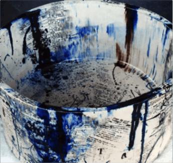 Miche Follano, Font Metomorphisical (2013) ceramic