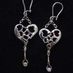 Forever mended diamond earings