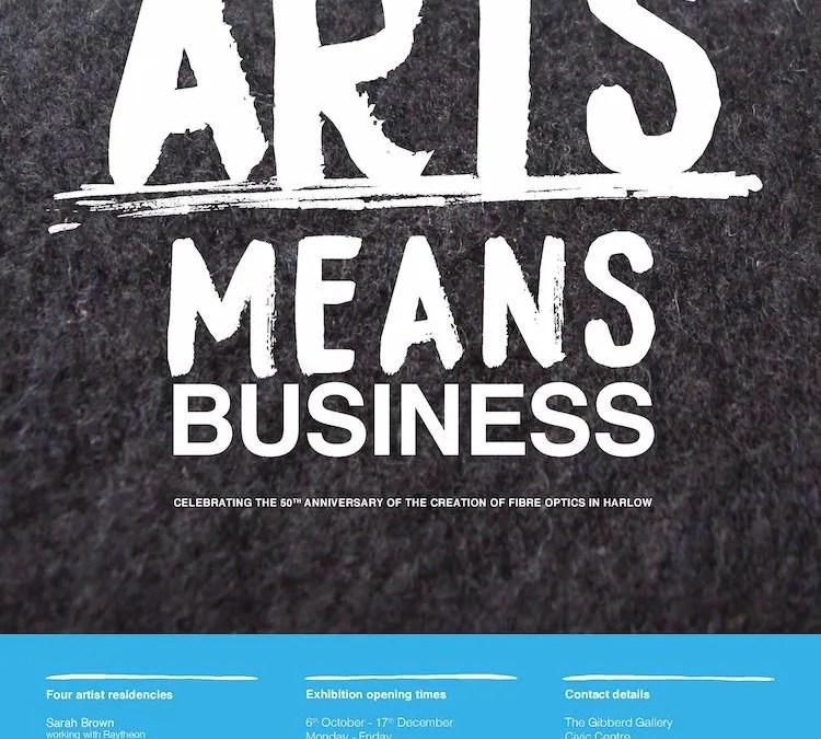 Arts Means Business Exhibition