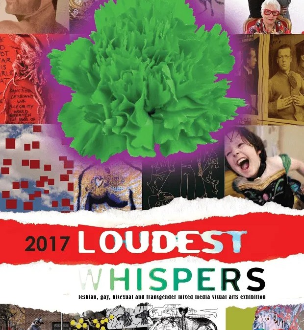 New Digswell Fellow Jamie Freestone exhibits at Loudest Whispers