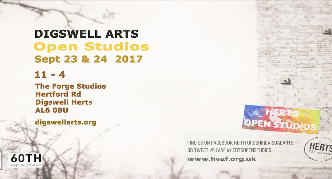 Artists at the Forge – Digswell taking part in Hertfordshire Open Studios