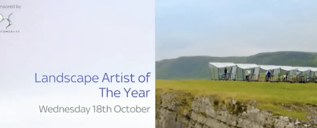 Fellow Dave Nelson will be appearing in Sky Arts Landscape Artist of the Year 2017