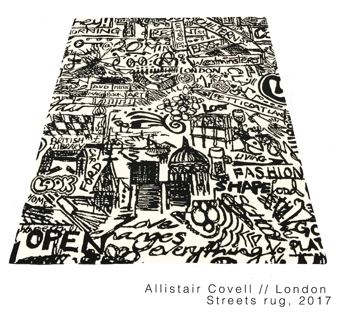 "Allistair Covell's ""London Streets"""