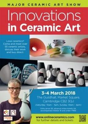INNOVATIONS IN CERAMIC ART – CAMBRIDGE