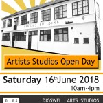Artists Studios Open Day at The Fenners Building in Letchworth