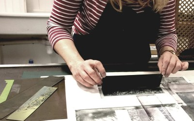 Solar Printing Workshop – Using Photopolymer plates with Sally Tyrie