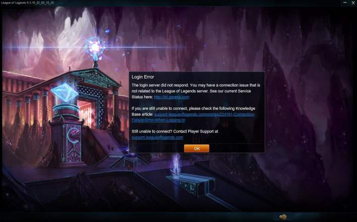How to log out of LOL