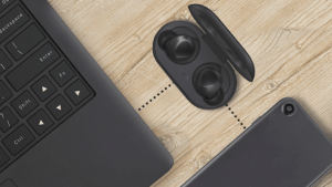how to connect galaxy buds to laptop