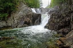 Split Rock Falls, must see waterfall, water, rock, trees