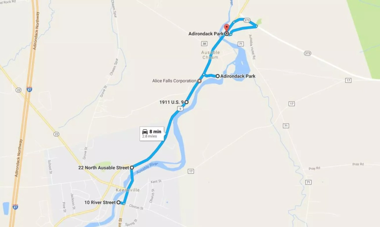 Daytrip 2 - Keeseville