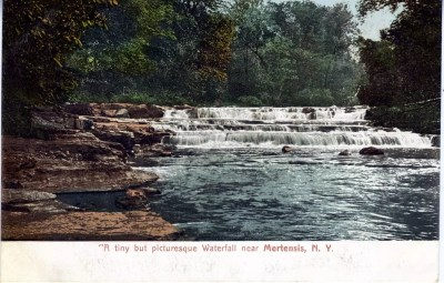 Waterfall Near Mertensis - Mertensia Falls