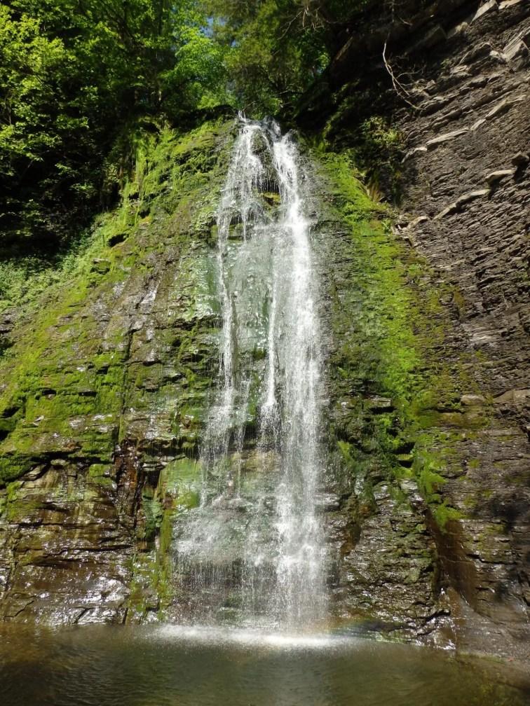 Ohisa Creek Falls, Stark Twn, Herkimer County