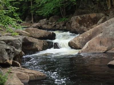 Moshier Lower Falls, Webb Twn, Herkimer County