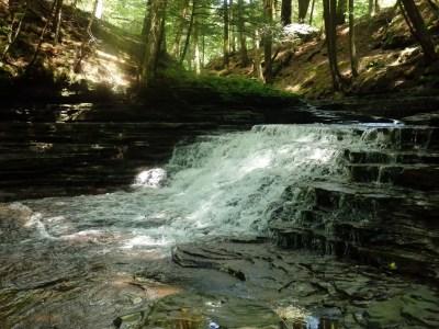 Saint Marys Falls - Morristown, Otsego County, New York