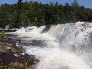 Moshier Upper Falls, Webb Twn, Herkimer County