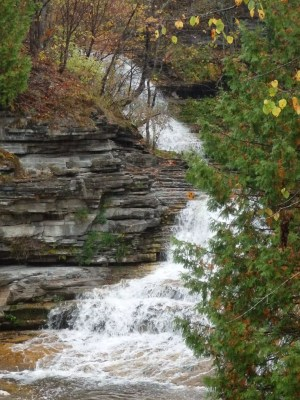 Old City Rd Falls, AKA Old City Falls, Wolf Hollow Falls, Fairfield Twn, Herkimer County