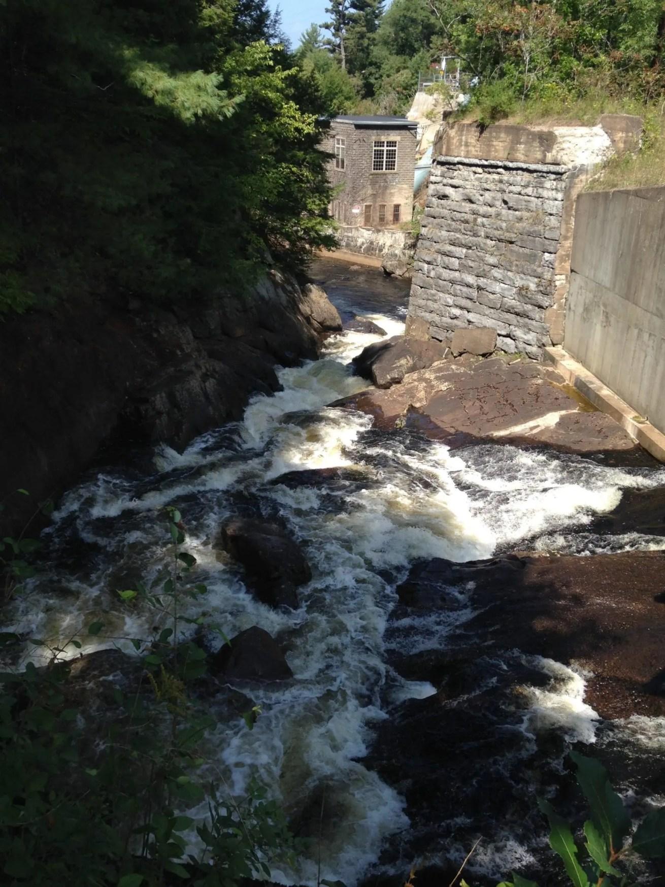 Belfort Dam and Falls, Croghan Twn, Lewis County, New York