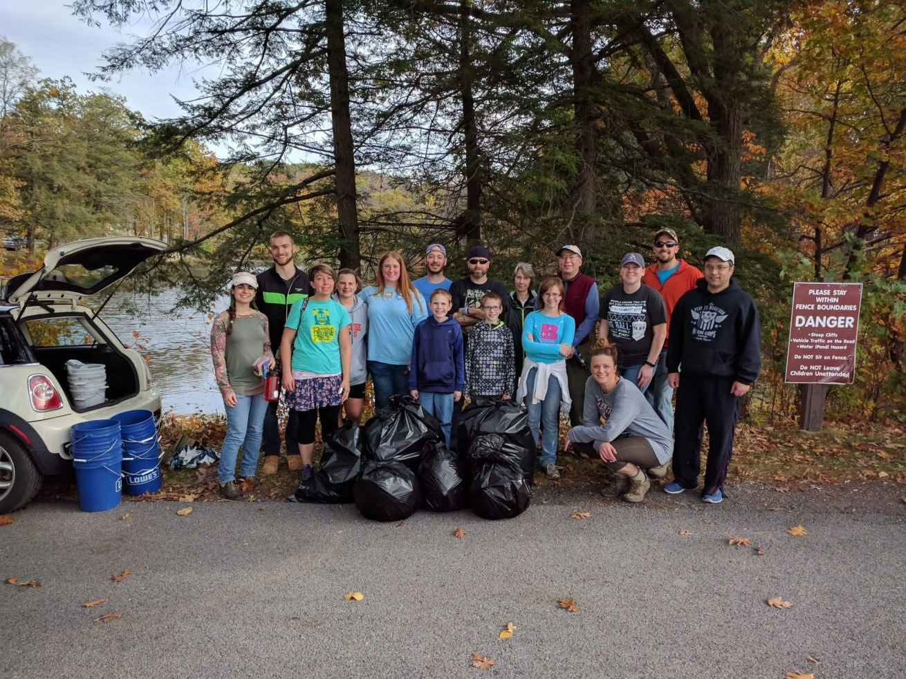 dig the falls cleanup at oakwood cemetery try new york