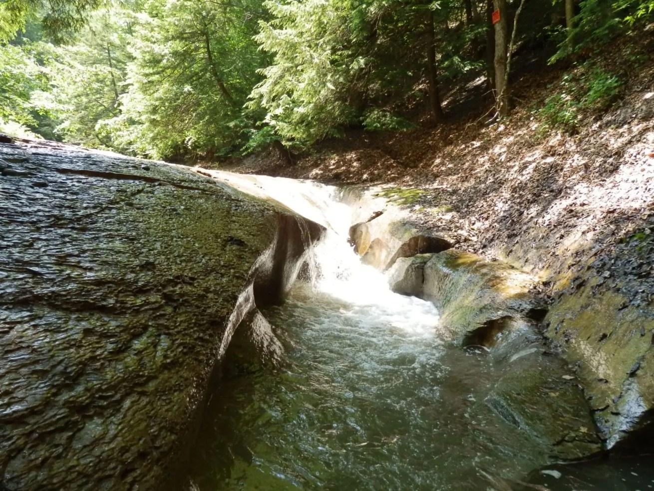 Bathtub Falls, Onondaga County, New York