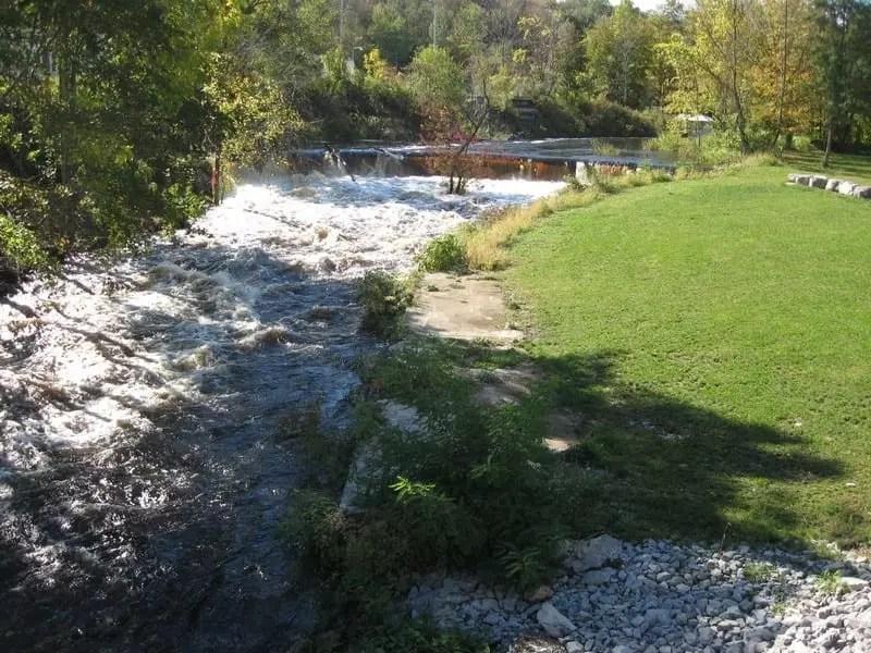 Camden Dam and Falls 1, Historical, Oneida County, New York