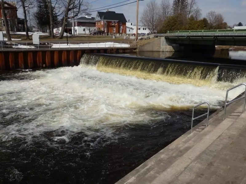 Camden Dam and Falls 2, Historical, Oneida County, New York