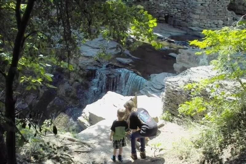 East Durham falls in, Greene County, Ny 8-17-2013
