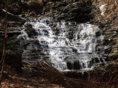 Emery Park Falls, Erie County, New York