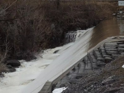 Jamesville Reservoir Dam and Falls, Onondaga County, New York