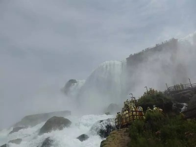 Bridal Veil Falls, Niagara County, New York 8-15-2016