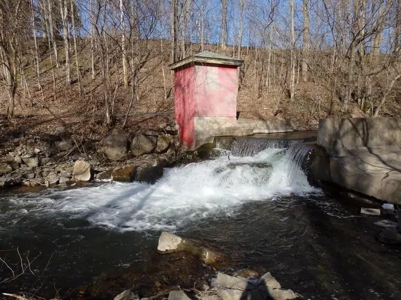 Skaneateles Creek Falls, Onondaga County, New York