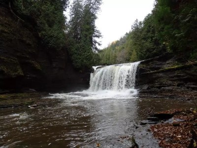 Whitaker Falls Lower, Lewis County, New York