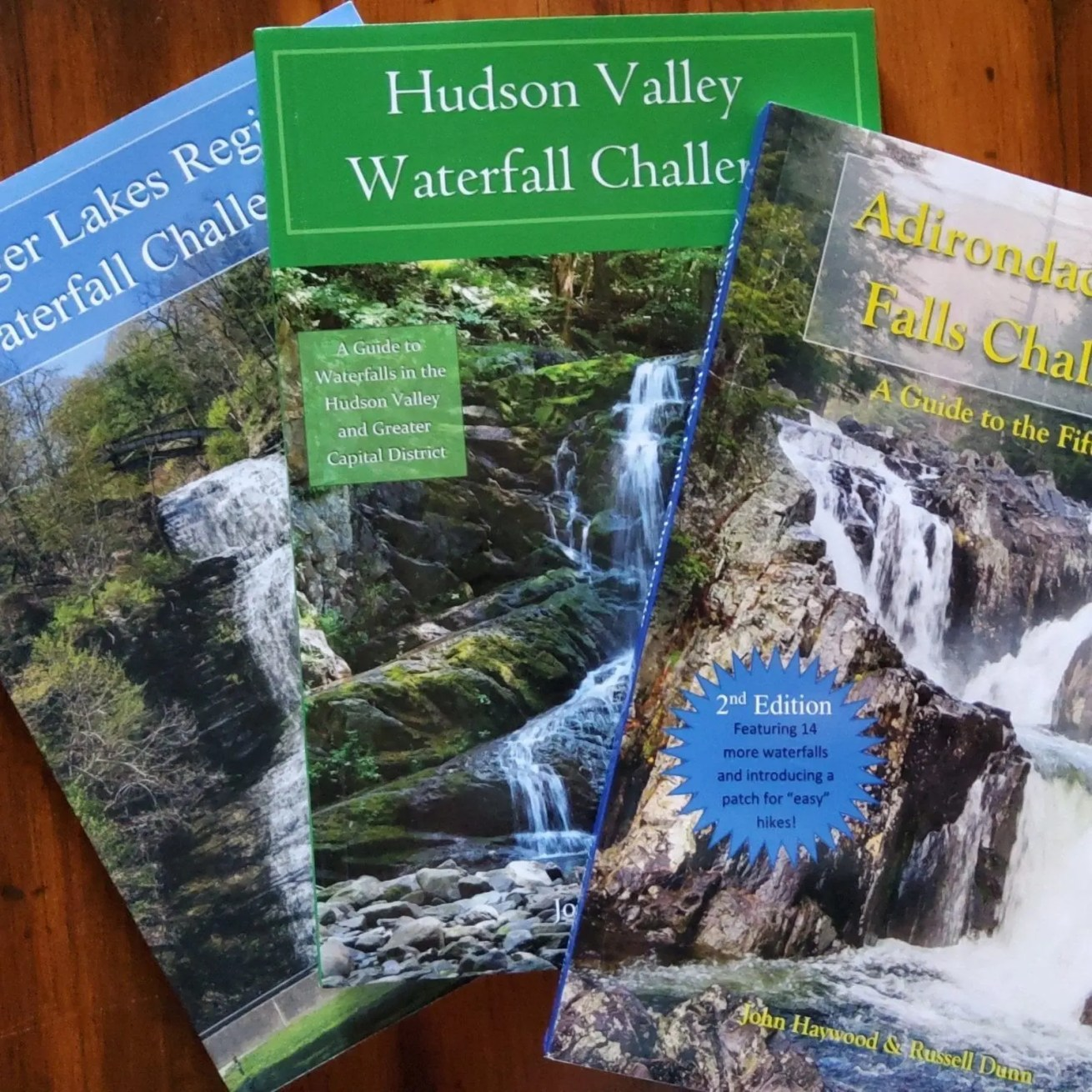 Regional waterfall challenge guides