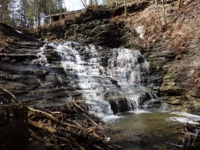 Emery Falls, Erie County, New York 4-13-2014