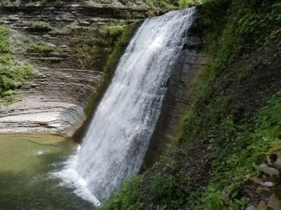 Stoney Brook Glen, Lower Falls, Steuben County, New York 8-11-2013