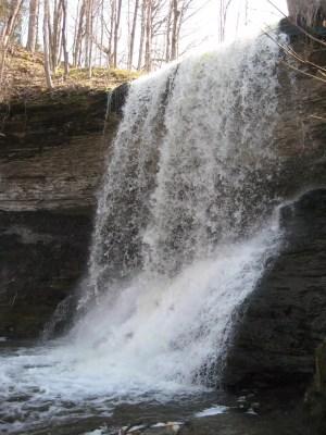 Wolcott Falls, Wayne County, New York 4-17-2009