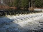 Westdale Dam Falls, Oneida County, New York 3-17-2012