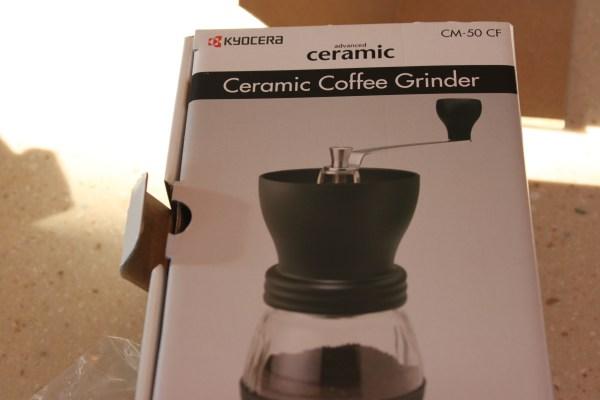 Thoughts Kyocera Cm50 Ceramic Coffee Grinder Dig