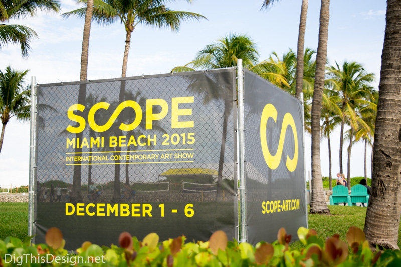 scope of art miami 2015 entrance ocean drive