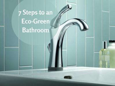 7 Steps to an Eco-Green Bathroom