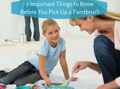 Pick Up a Paintbrush After Preparation