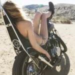 Kvinde i Marok bike