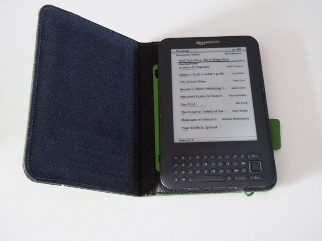 Ready to Read my Kindle