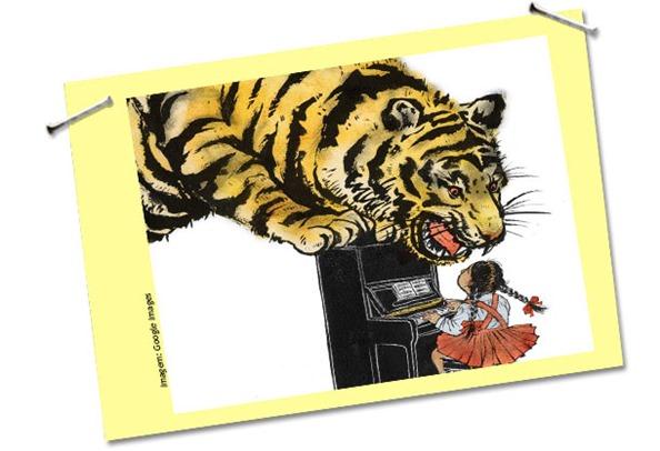 Mães tigresas não sabem correr